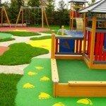 Строительство и обустройство детских площадок.