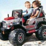 Прокат детских электромобилей.
